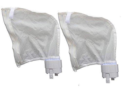 ATIE poolsupplytown Pool Bodensauger Alle Zweck Reißverschluss Tasche Ersatz Passend für 360, 380All Purpose Bag 9-100-1021, 9-100-1014(2Pack)