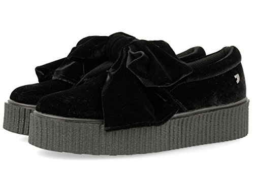 Gioseppo Damen 30666 Sneakers, Schwarz (Black), 41 EU (Sneakers Tacon)