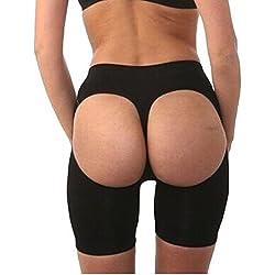 Infinity Curves Mujer Control Bragas Ropa Reductora Nalgas Lifter Faja De Cintura Magic Pantalón Corto De Niños - sintético, 803, 20% elastano 80% nailon 85% nailon 15% spandex, Mujer, Large / X-Large