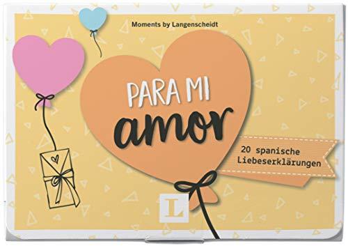 Para mi amor - Kärtchen im hübschen Mäppchen: 20 spanische Liebeserklärungen