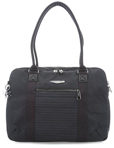 Kipling Neat, Bolsa para Portátil Unisex Adulto, Negro (Strong Black), 15x24x45 cm (W x H x L)
