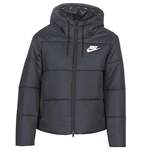 Nike Damen Sportswear Synthetic-Fill Weste, Schwarz/Weiß, - Windjacke Nike Damen