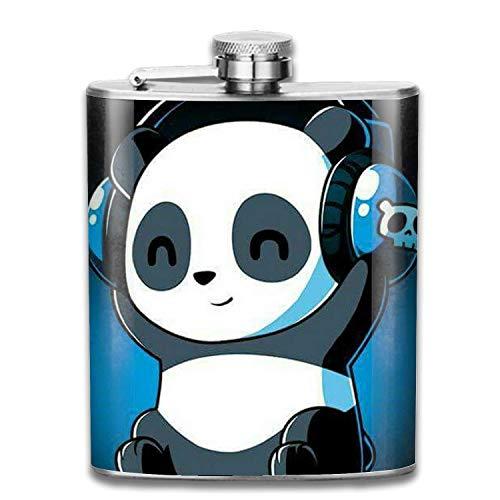Stainless Steel Flask Ballon Panda Whiskey Flask Vodka Alcohol Flask Hip Flask for Men Unisex3 12 Oz Ballon