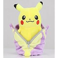 Pokemon Peluche Pikachu Bolsa de Dormir Ekans/Abo/Rettan 20cm