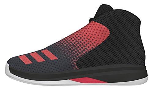 adidas Court Fury 2016 K, Scarpe da Basket Bambino, Nero (Negro (Negbas / Rojray / Ftwbla)), 29 EU