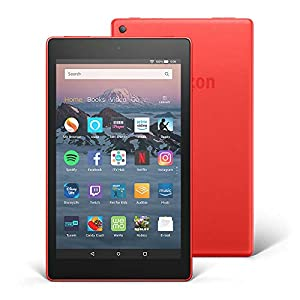 "Fire HD 8 Tablet with Alexa, 8"" HD Display, 32 GB, Red - with Special Offers"