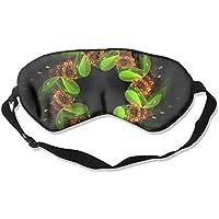 Sleep Eye Mask Wreath Green Colorful Lines Lightweight Soft Blindfold Adjustable Head Strap Eyeshade Travel Eyepatch preisvergleich bei billige-tabletten.eu