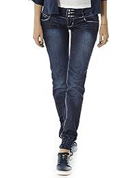 Bestyledberlin pantalon en jean pour femmes j02abn