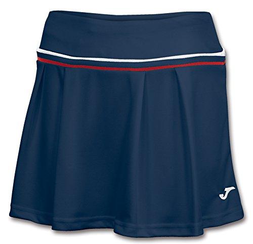 Joma Terra Woman Skirt Sportrock dunkelblau Damen dunkelblau-rot-weiß, XXL (44)