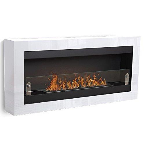 Vigo-XL--blanco-1-quemador-chimenea-etanol-Poele-Bio-pared