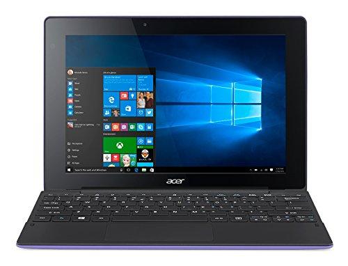 Acer Aspire Switch 10 E SW3-013 10.1-Inch IPS Touchscreen Detachable 2-in-1 Laptop (Purple) - (Intel Atom Z3735F Quad-Core, 2 GB RAM, 32 GB eMMC Storage, Windows 10)
