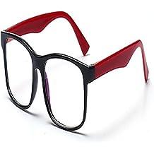 Outstanding® Blu-Ray Radiación Antifatiga Ordenador Gafas de Cristal Llanas Modelos Masculinos Y Femeninos