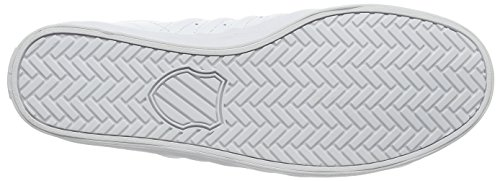 K-Swiss Belmont Herren Low-Top Weiß (White/Charcoal 106)