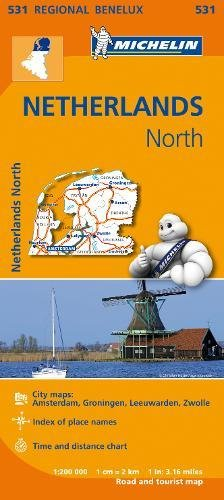 Mapa Regional Netherlands North (Carte regionali)