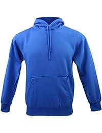 Hommes Sweat-shirt Sweater à Capuche Pull Veste Sport Manches Longues S-XXL Coloré