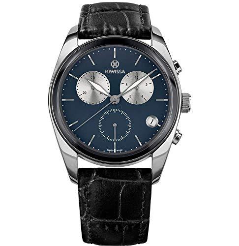 Jowissa Lux Swiss J7.092.L - Reloj para Hombre, Color Azul y Plateado