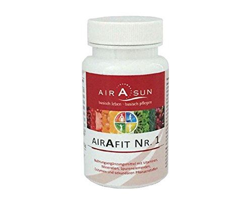 Vitamin-Tabletten airAfit Nr. 1 - Micronährstoffkonzentrat mit Vitaminen, Mineralien, Spurenelementen, Enzymen und sekundären Pflanzenstoffen - 120 Tabs