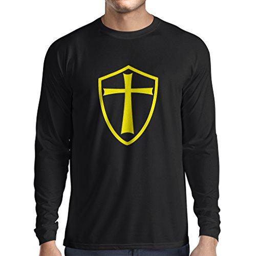 t-shirt-manches-longues-chevaliers-templiers-chevalier-des-templiers-xxx-large-noir-jaune