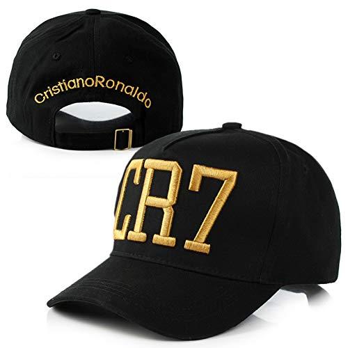 TTXSKX Cristiano Ronaldo Cr7 Sombreros Gorras De Béisbol Hip Hop Sombrero del Snapback para Hombres Mujeres Sombreros para El Sol