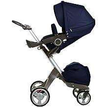 Stokke Xplory Newborn Stroller (Deep Blue ) by Stokke