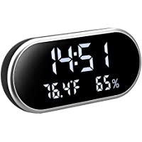 Kranich Reloj Despertador Digital USB pequeño led luz Alarma Despertador Infantil y niños