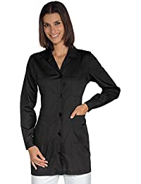 Isacco-túnica médica Marbella, color negro