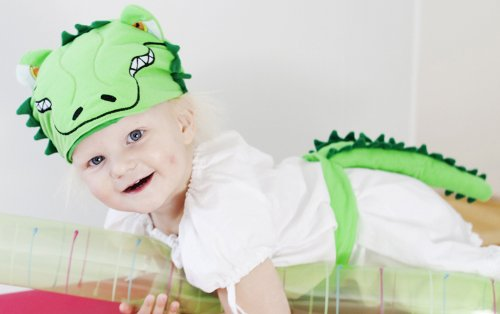 Krokodil Kostüm - Verkleidung