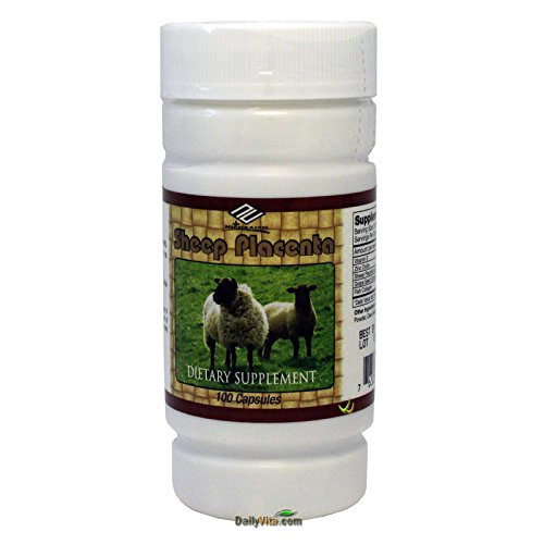 NU-Health Sheep Placenta Complex, 100 Capsules Test