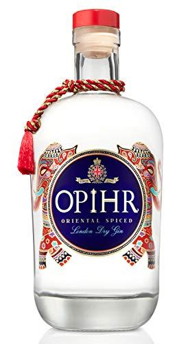 Opihr Oriental Spiced London Dry Gin 42,5{30b8dfde87f2a5d4658d3a388477a3a8290ec2851d727b9c1fb4e876048ad0f5}, mit Kräutern und Gewürzen aus dem Orient, von Englands ältestem Hersteller von Gin seit 1761 (1 x 0.7 l)