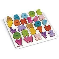 Janod - Puzzle abecedario de madera (J05566)