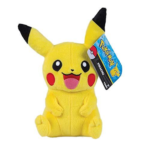 Pokemon 18587 Plüsch, Gelb. (Pokemon Pikachu Plüschtier)