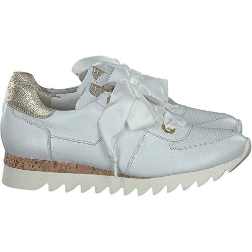 Paul Green Damen Mastercalf/Cervo Sneaker White/Oro