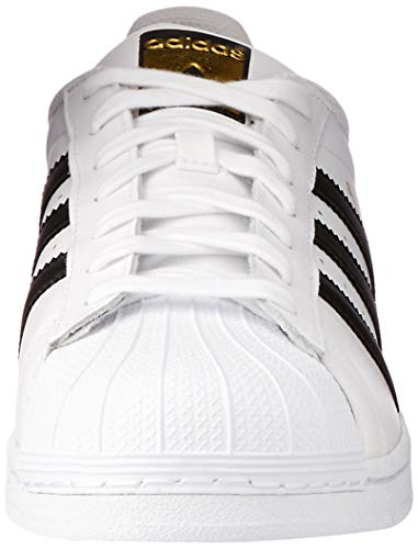 new concept 8e76b e56e9 Adidas Originals Superstar Scarpe da Ginnastica Unisex - Adulto, Bianco  (Ftwr White Core Black Ftwr White), 44 EU