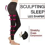 Soulitem Frauen Sculpting Schlaf Beinformer Legging Body Shaper Abnehmen Hosen