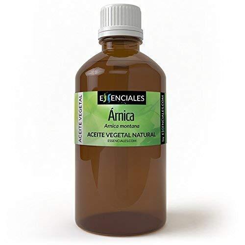 Essenciales - Aceite Vegetal de Árnica, 100% Puro, 200 ml   Aceite Vegetal Arnica Montana