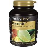 SimplySupplements Burnoff|Brûleur de graisses|180 capsules