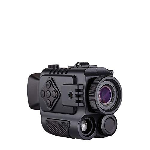 BOBLOV Télescope de Chasse Monoculaire de Vision Nocturne Infrarouge Jumelle Rechargeable Vidéo Photographique avec Zoom numérique 1-5X et Filtre