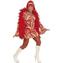 Widman - Disfraz de chica de los 70s para hombre, talla XL (S/5790S)