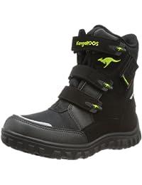 KangaROOS Hitchhike-Velcro Unisex-Kinder Warm gefütterte Schneestiefel