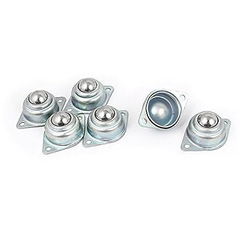 Roulette Metal - sourcingmap® Boule 16mm Dia métal Unité de