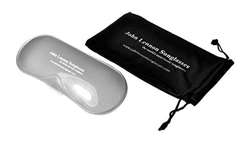1c38bb2c85 i sunglasses Round John Lennon Style Elite Sunglasses Black Grey ...