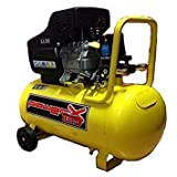 Mistral, Compressore 50 Lt Olio Italy 8 Bar 2 Hp 2 Manometri 2 Connettori 170L/M