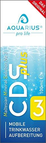 AQUARIUS pro life CDs Plus 100 ml - Das Original (CDL) - Chlordioxid CDs/CDL Tropfen