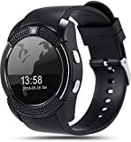 Sprinto V8 Sweatproof Bluetooth Smart Watch Band with Pedometer, Sleep Monitoring Wristband, HD