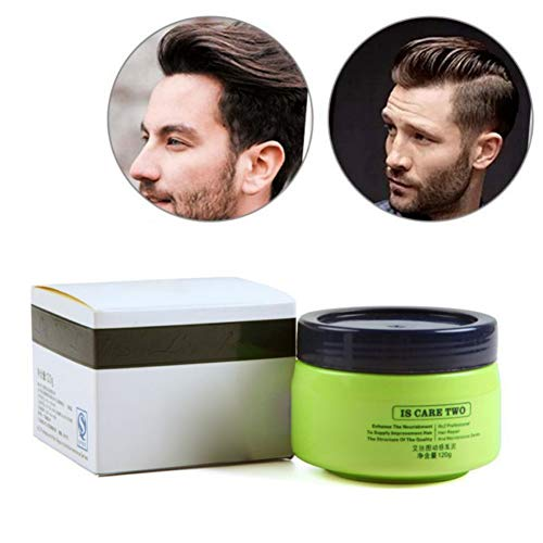 Allouli 120g Unisex Temporary Hair Styling Wax One-time Hair Color Wax Dye Molding Paste Cream Hair Clay - Hair Molding Putty