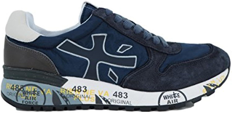PREMIATA Herren Sneaker Blau Dunkelblau  Billig und erschwinglich Im Verkauf