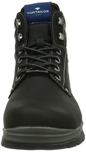 Tom Tailor Men 6481302, Boots homme Noir (Black)