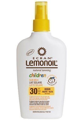 ECRAN LEMONOIL - Children's Sun Milk High Factor Spray SPF30 - 200ml