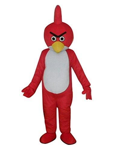 s Bird Erwachsene Halloween Maskottchen Kostüm Cosplay Fancy Kleid Outfit (Sport Maskottchen Halloween-kostüme)