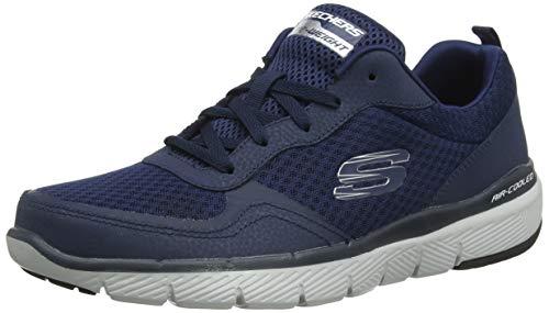 Skechers Flex Advantage 3.0, Zapatillas para Hombre, Azul (Navy Nvy), 45 EU